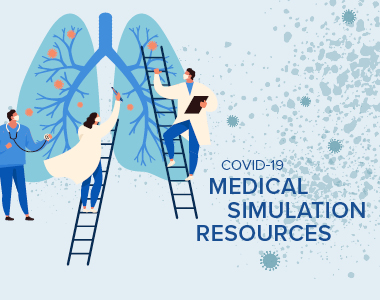 covid-19 resources page banner on top of the page