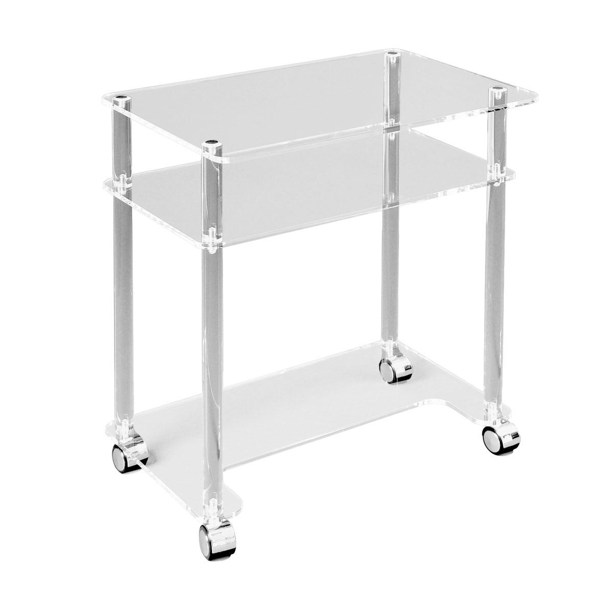 Tavolino in plexiglass 60 x 40 x 90 1009656 w14238 - Tavolino plexiglass ...